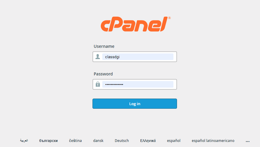 cpanel login - 1: WordPress Installation