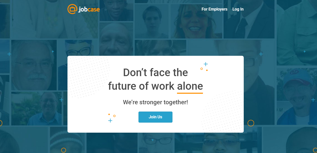 jobcase - 5 Professional Networking WebSites Alternatives to LinkedIn