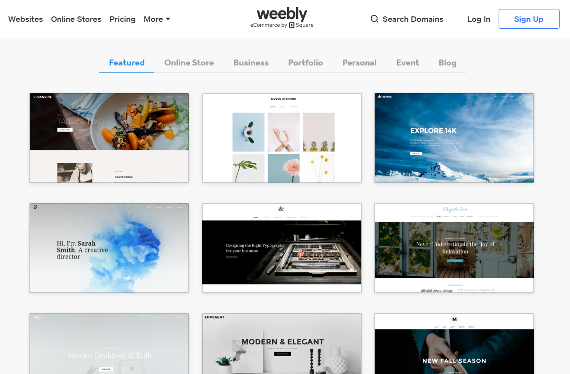 weebly themes - Advantages Of Weebly Free Website Builder And How You Can Make Full Use Of It