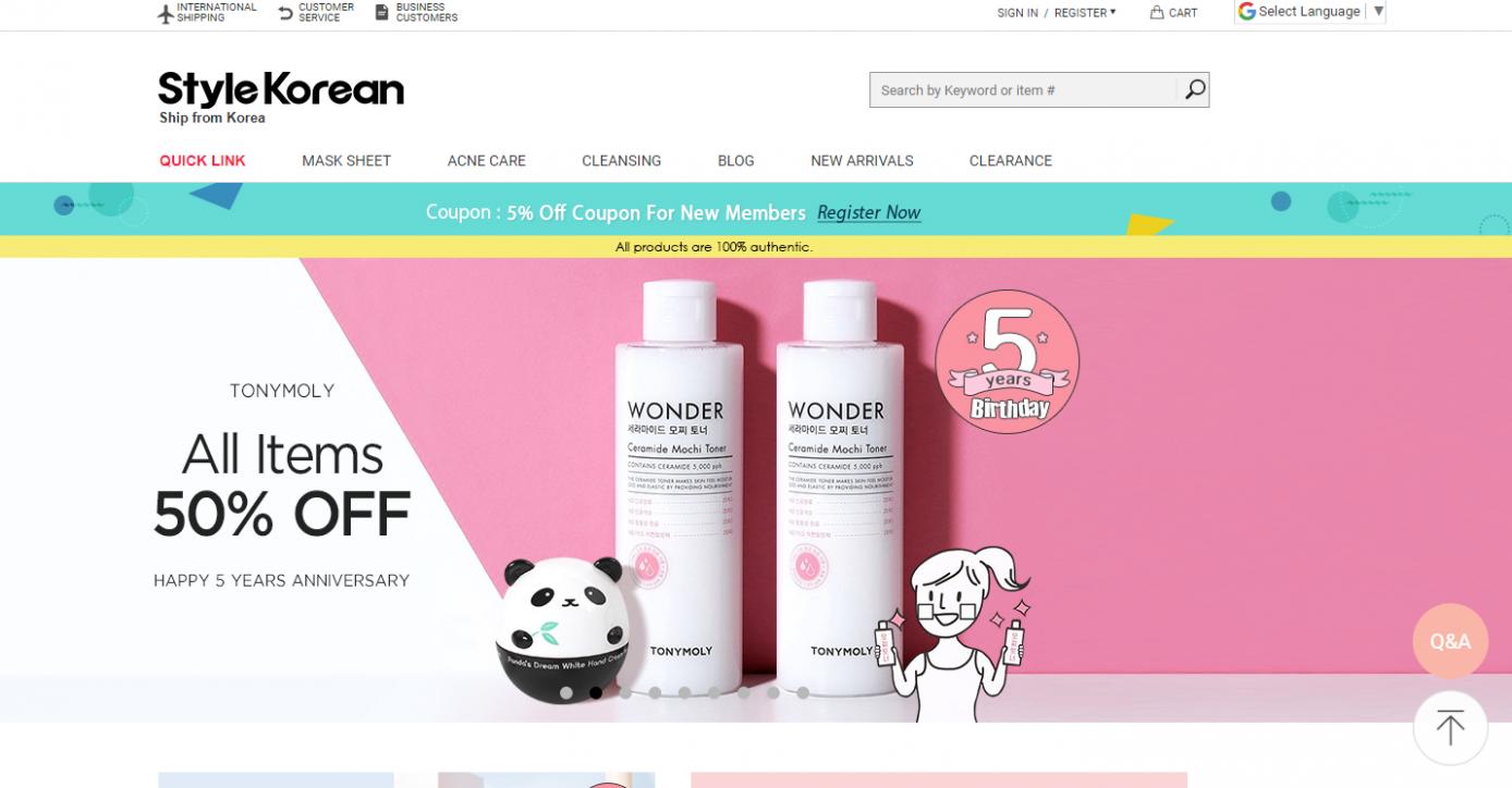 stylekorean 1388x724 - 9 Makeup Affiliate Programs for Fashion Bloggers